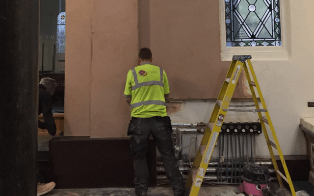 St-Catherines-Church-Sheffield-Damp-Proofing